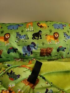 Olive Kids Wild Animals Nap Mat Preschool Kindergarten Blanket Sleep Mat