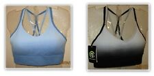 Champion C9 Medium Support athletic bra Strappy Seamless Removable Pads Duo Dry