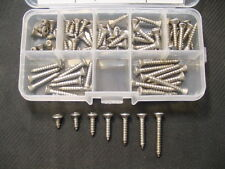 #8 Stainless Steel Oval Phillips Head Auto Sheet Metal Trim Screws Olds Pontiac