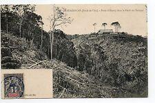 MADAGASCAR colonie française Le poste d'Omory dans la foret de l'Iantara
