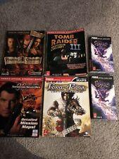 Strategy Guides 007 Spyro Tomb Raider III Prince Of Persia Prima