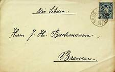 JAPAN 1922 10sn ON COVER TO BREMEN GERMANY