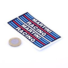 Martini Racing Stickers Classic Car Rally F1 Vinyl Decals 100mm x2 Lancia Alfa