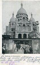 Carte PARIS Basilique de Montmartre