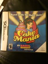NINTENDO DSI DS GAME CASE EMPTY W/ LEAFLET NO GAME cake mania