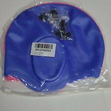2 Pcs Swim Caps Cover Ears, Durable Silicone Non-Slip Waterproof Swimming Caps