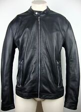 DIESEL L-FRANKLIN Jacket Leather Lederjacke Herren Gr.XXL Black NEU mit ETIKETT