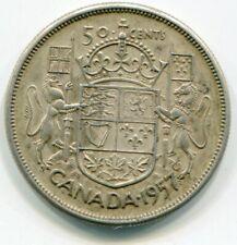 Canada 50 Cents 1957  lotjun4737