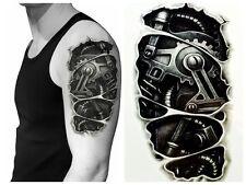 Einmal-Tattoo Temporary Tattoo  wasserdicht 95*180mm  Neu
