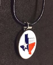 Golfer's Magnetic Golf Ball Marker Necklace - Texas State Map Pendant