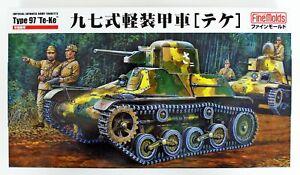 Fine Molds FM10 Japanese Armored Type 97 'TE-KE' 1/35 Scale Kit