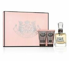 Juicy Couture Eau de Parfum Body Sorbet Shower Gel 3 piece Gift Set NEW