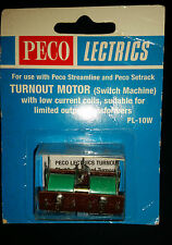 Peco HO/OO PL-10W Turnout Motor  NIP NOS