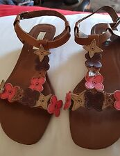 Designer Ladies Sandals By ZENSU Size 6.5