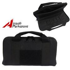 Tactical Nylon Padded Pistol Hand Gun Magazine Bag Storage Case Bag Pouch Black