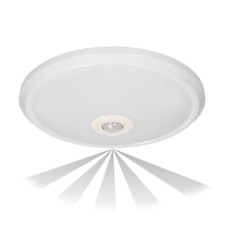 ORNO rund LED Einbau 12w Zonda Bewegungsmelder Ip20 Notfall Deckenlampe