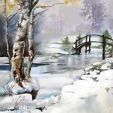 Servietten 20, Serviettentechnik It's Wintertime Ambiente 33 x 33