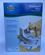 PetSafe Drinkwell Mini Pet Fountain Free-Falling Stream 40 Oz PN PWW00-2677 New