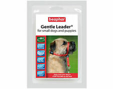 Beaphar Gentle Leader For Small Dogs Red Halter like Control Collar