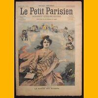 PETIT PARISIEN Supplément littéraire illustré ECHOUEMENT KLÉBER 6 janvier 1902