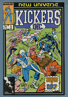 Kickers Inc #5 1987 [Marvel] New Universe