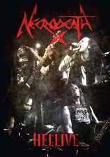 NECRODEATH - Hellive  - DVD