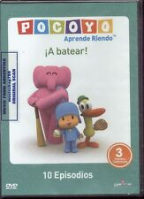 DVD POCOYO A BATEAR! SEALED NEW 2012 IN SPANISH