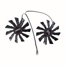 95mm MSI R9 290X 290 280X 270X Twin Frozr Video Card Dual Fan 4Pin PLD10010B12HH