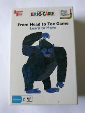 Kids From Head To Toe Eric Carle Card Game Learn To Move Build Self Esteem New