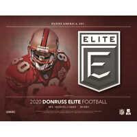 2020 Donruss Elite Football Hobby Box Factory Sealed