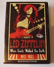 When Giants Walked the Earth: A Biography of Led Zeppelin MP3 CD – Audiobook