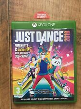 Just Dance 2018 EMPTY CASE Xbox One Replacement case Box No Game