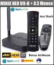 MINIX NEO U9-H 4K HDR TV BOX Android 6.01 S912-H 2G/16G Octa Core + A3 Airmouse