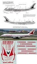 *RARE* MICROSCALE DECALS 1/144 Boeing 747 (Air India)