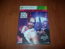KANE & LYNCH 2 DOG DAYS EDICIÓN LIMITADA XBOX 360 (PAL ESPAÑA PRECINTADO)