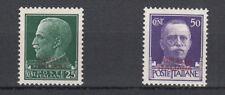 SOMALIA 1931 Imperiale 2 VAL.  SS. 165 -166  NUOVA MVH LINGUELLA INVISIBILE