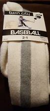 TCK Medium R10 Baseball Ribbon Stirrup Sock Cotton Nylon Elastic 2 in 1 Gray