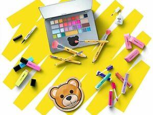 SEPHORA x MOSCHINO Full Set ~ Laptop Palette, Eyeliner, Brushes, Lip, Cheek Set