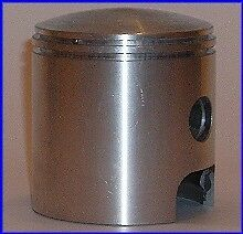 NEW PISTON WITH RINGS KIT PISTONS PUCH 175 MC Cross USA 1970-'74 Cil.Ghisa/Crom