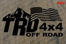 2 x Toyota tacoma decals TRD off road or TRD sport Decals