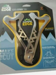 New Outdoor Edge Ribcage Spreader Steel Stick Pivoting Steel Field Dressing