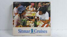 VINTAGE SITMAR CRUISES  MATCHBOX BOOK SHIPPING LINER CRUISES