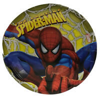 Spiderman Plates 23.5cm 8 Pack Birthday Party License Tableware Serveware Boys