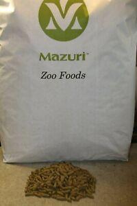 Mazuri Zoo Food Reptile Exotic Leaf Eater Tortoise Food ➕ Free calcium powder