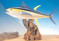 """Taxidermy Yellow Fin 12"""" Fish Replica Statue"""