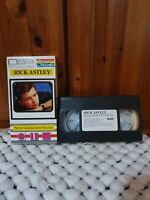 Rick Astley ‎- Never Gonna Give You Up - Very Rare VHS Video Cassette Single