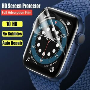 HD Film For Apple Watch Screen Protector 44mm 40mm 42mm 38mm (Not tempered Gl...