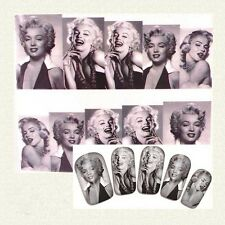 Celebrities Personality Fine Chic Nail Stickers Decals Stars Model Fshion Style