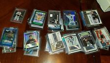Lot of 52 Rookies and Prospects Autographed Baseball Cards