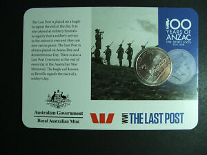 2015 Anzac centenary The unknown soldier 20 cents UNC